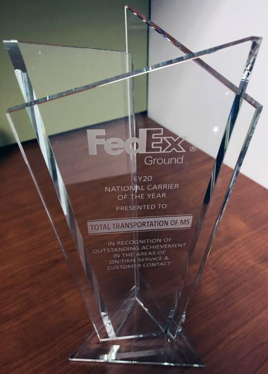 FedExGround Carrier of the year