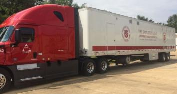Salvation Army Mobile Kitchen, Total Transportation